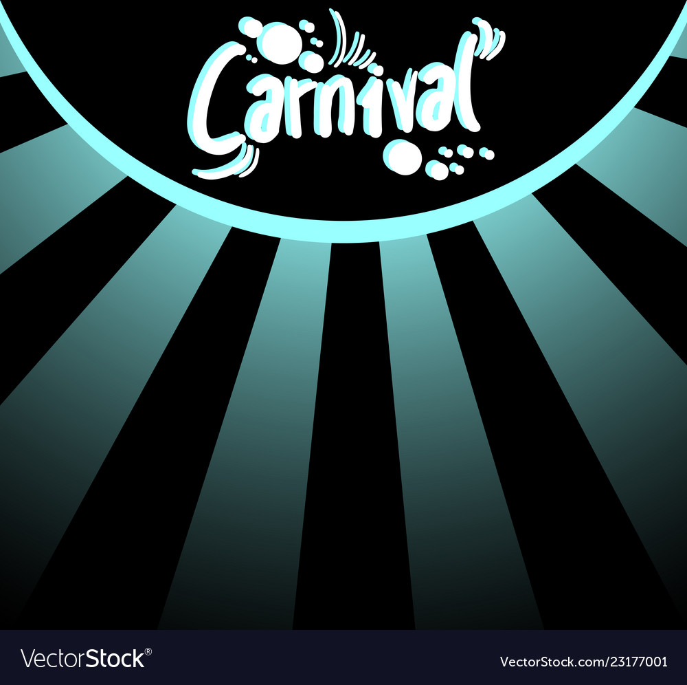 Elegant carnival background