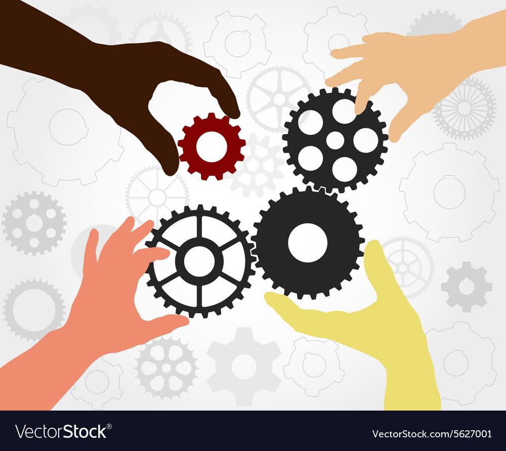 Teamwork gears
