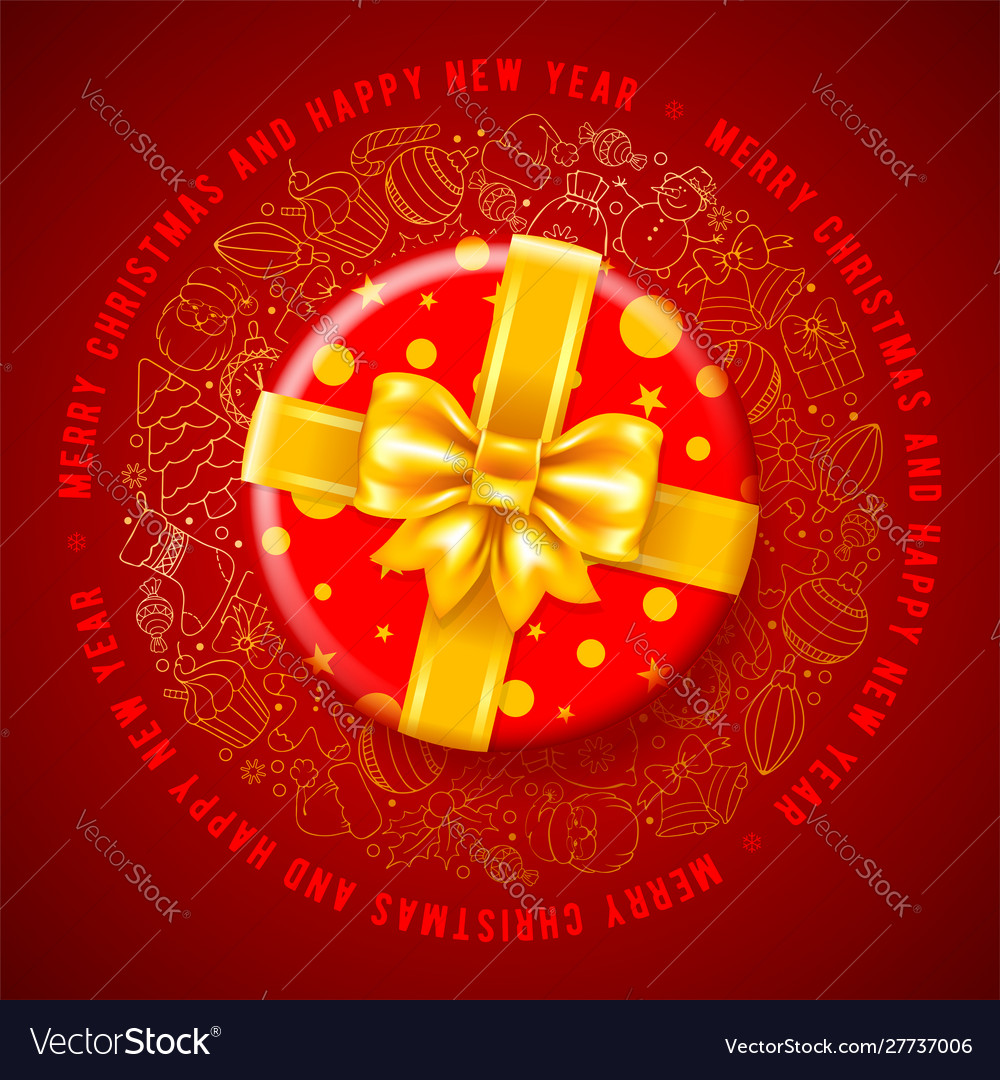 Festive christmas greeting design