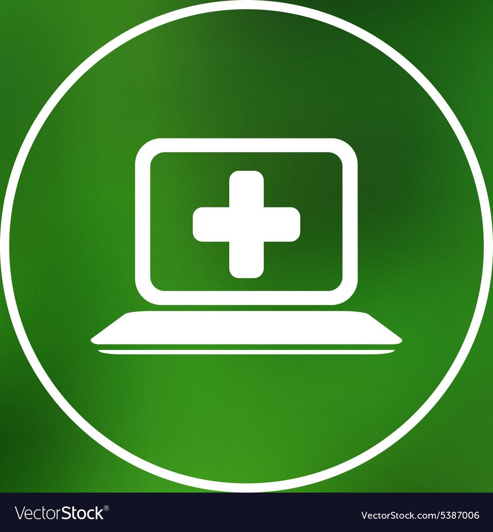 Medical care design over blue background