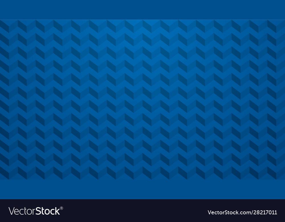 Blue chevron background