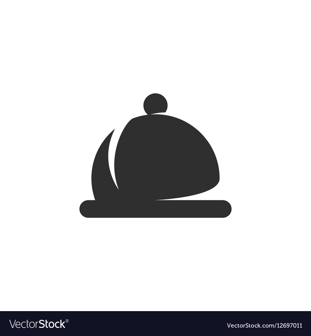 Dish icon isolated on a white background