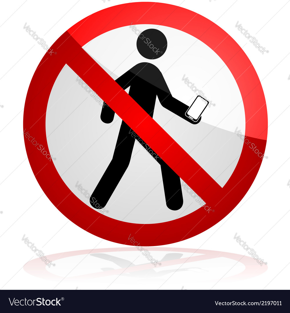 Do not walk and text