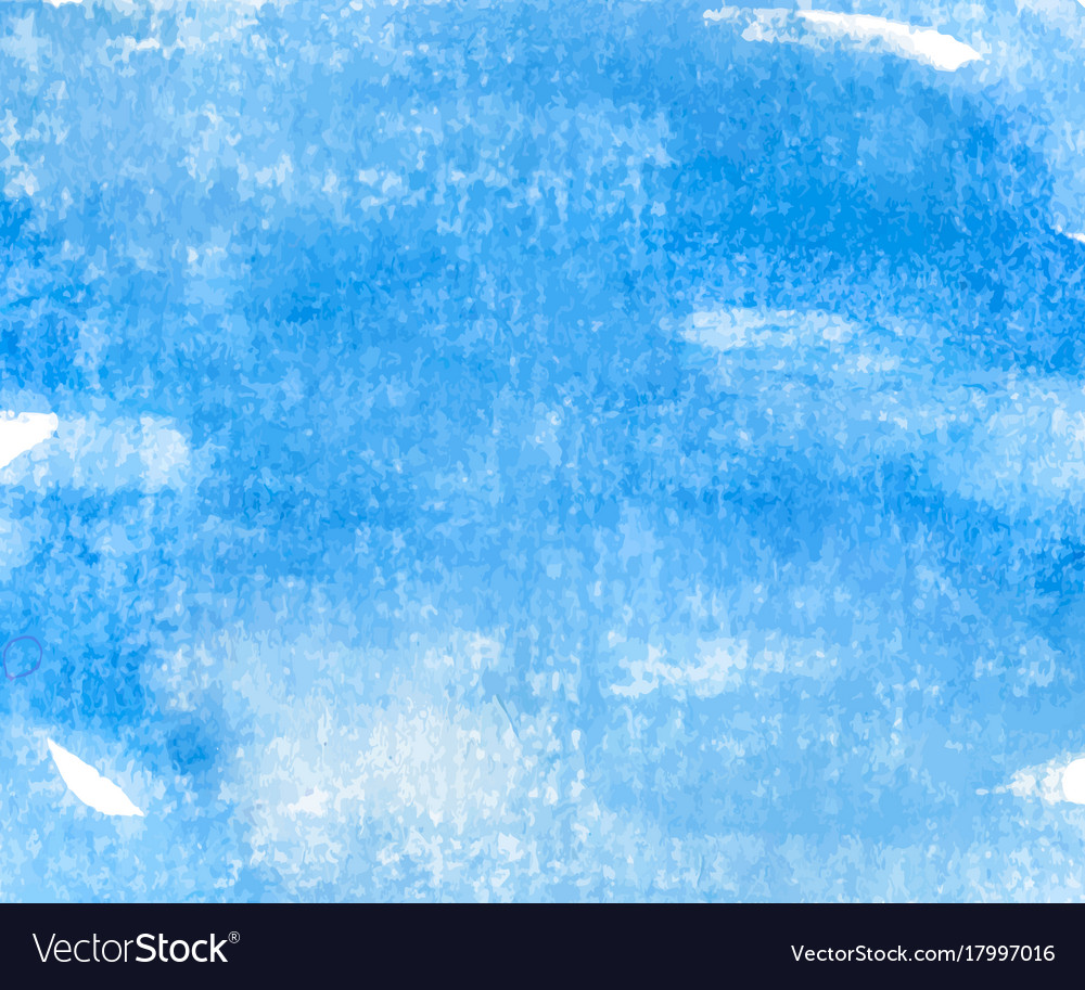 sky watercolor background royalty free vector image