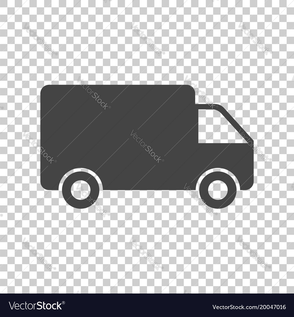 Truck car fast delivery service shipping icon