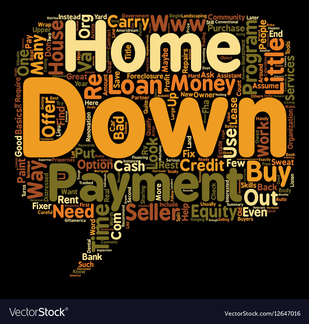 Ways to Buy a Home With Little or No Money Down