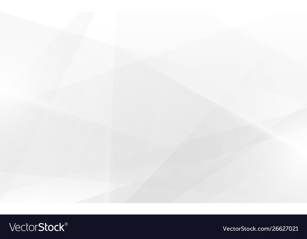 Abstract geometric white and gray color elegant