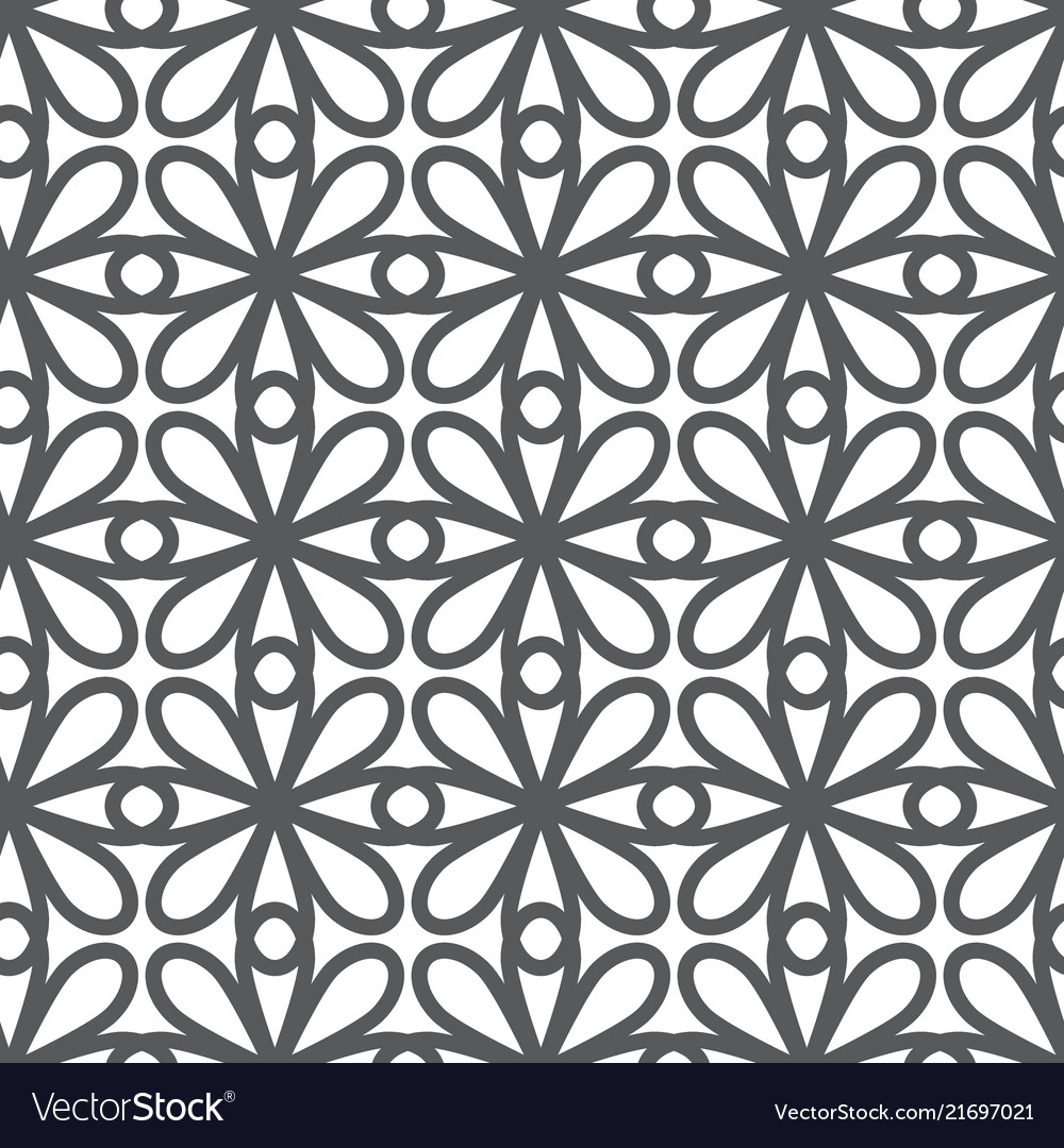 Abstract simple geometric line pattern monochrome