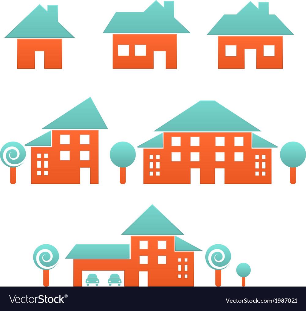Estate vector image