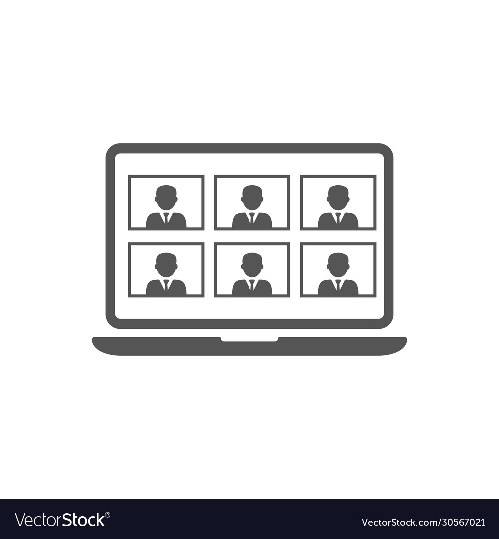 Online meetings work from home teleconference