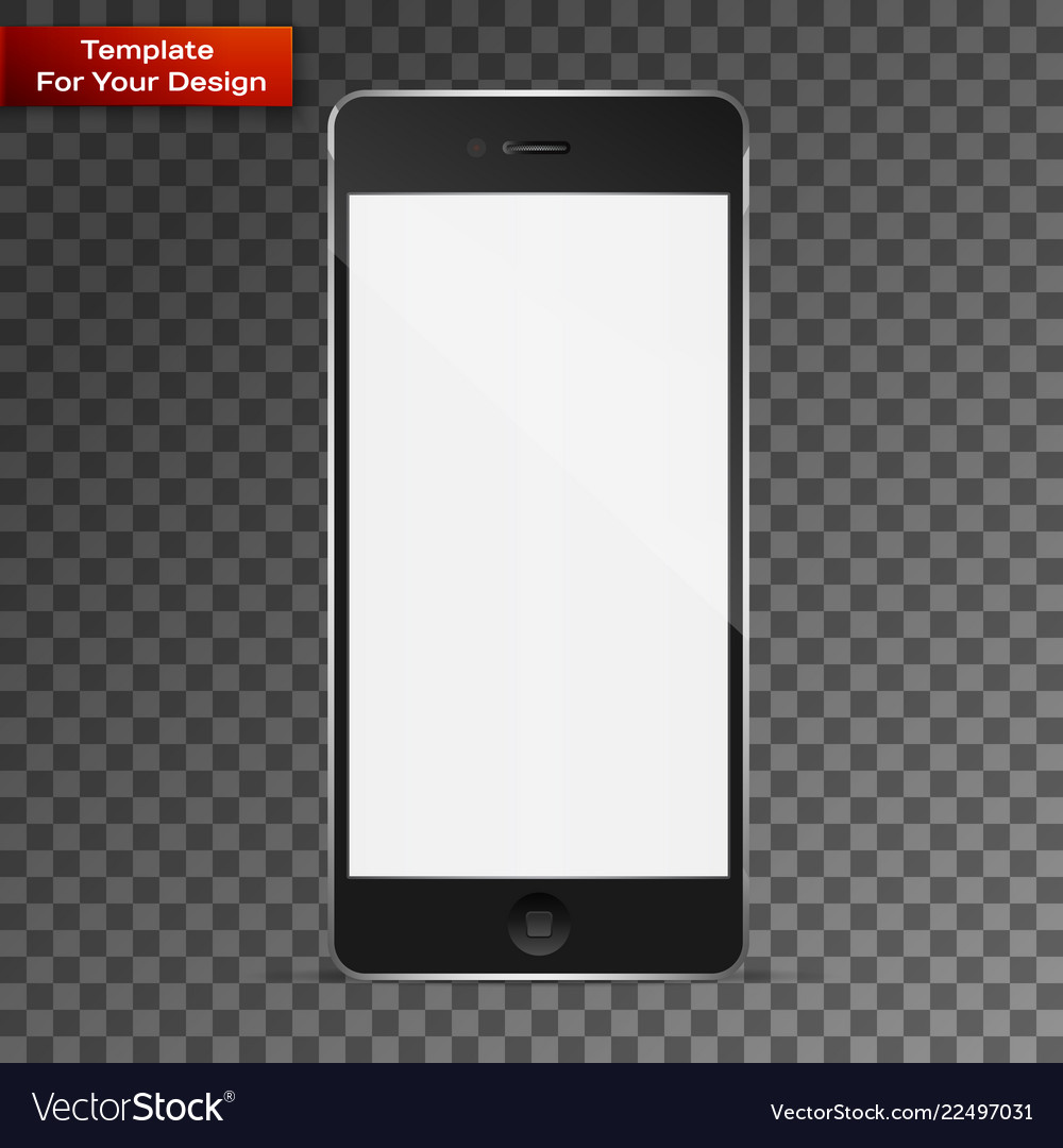Perfectly detailed modern smart phone