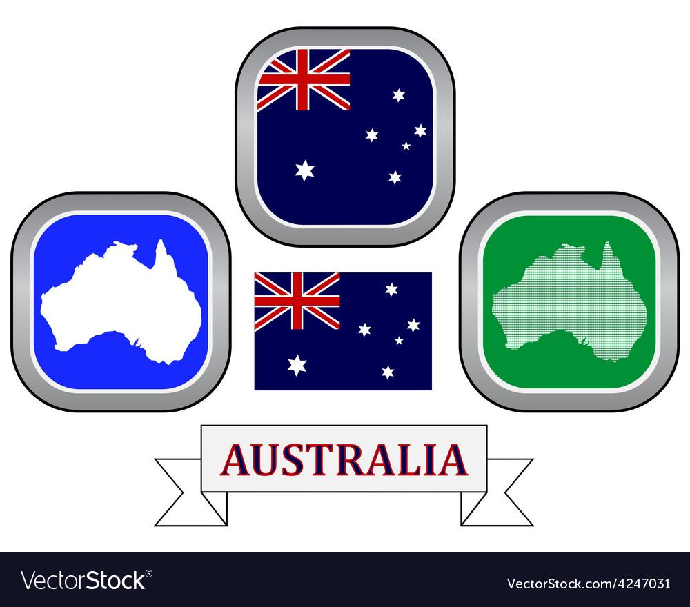 Symbol Of Australia Royalty Free Vector Image Vectorstock