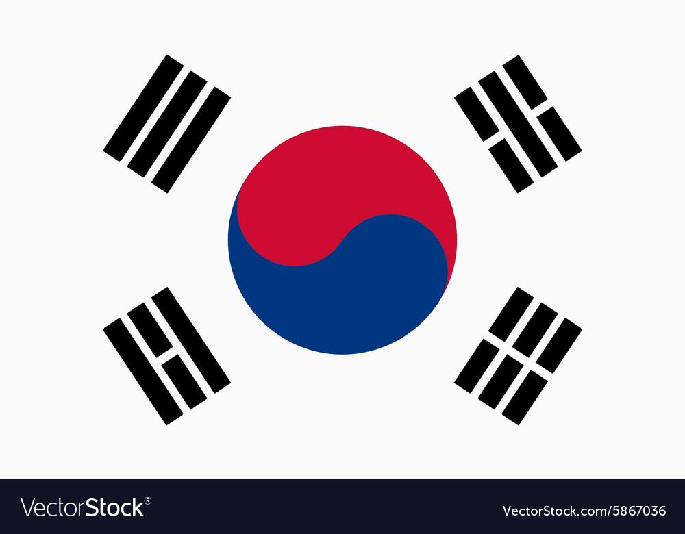 Flag of Republic of Korea