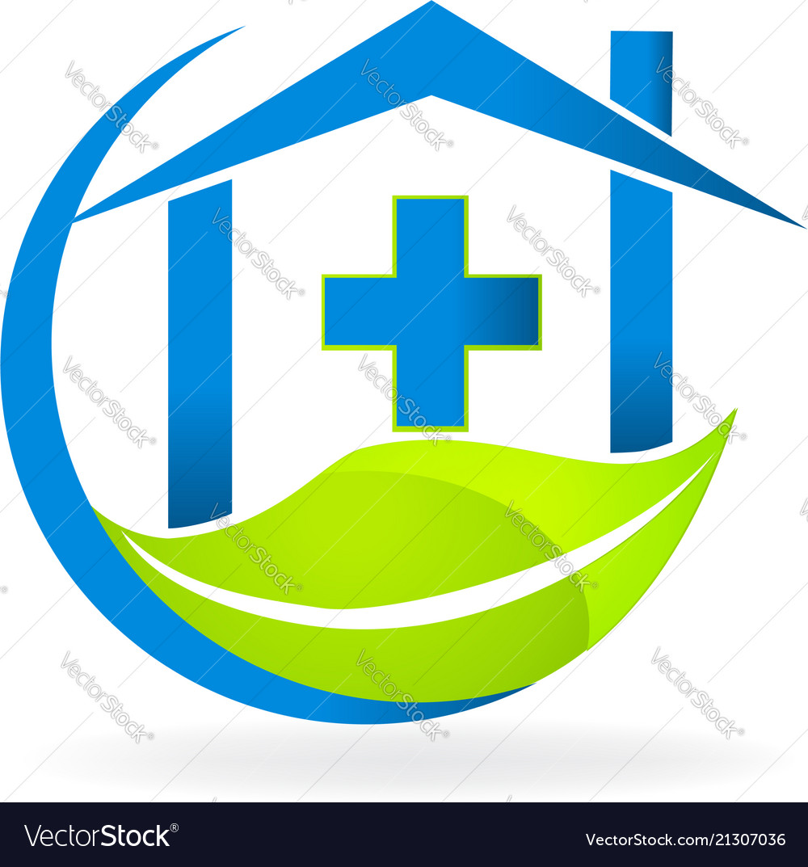 Medical clinic symbol nature business logo