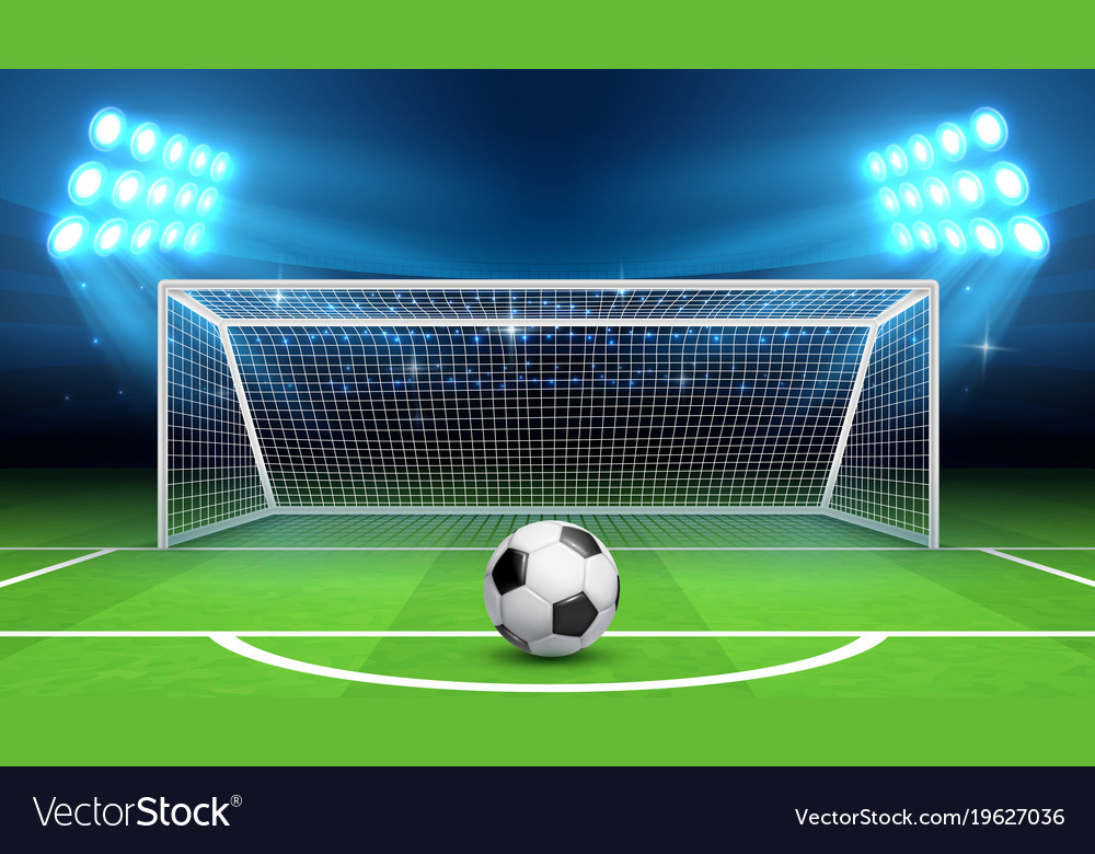 soccer football championship background royalty free vector Football Field Background soccer field clipart free