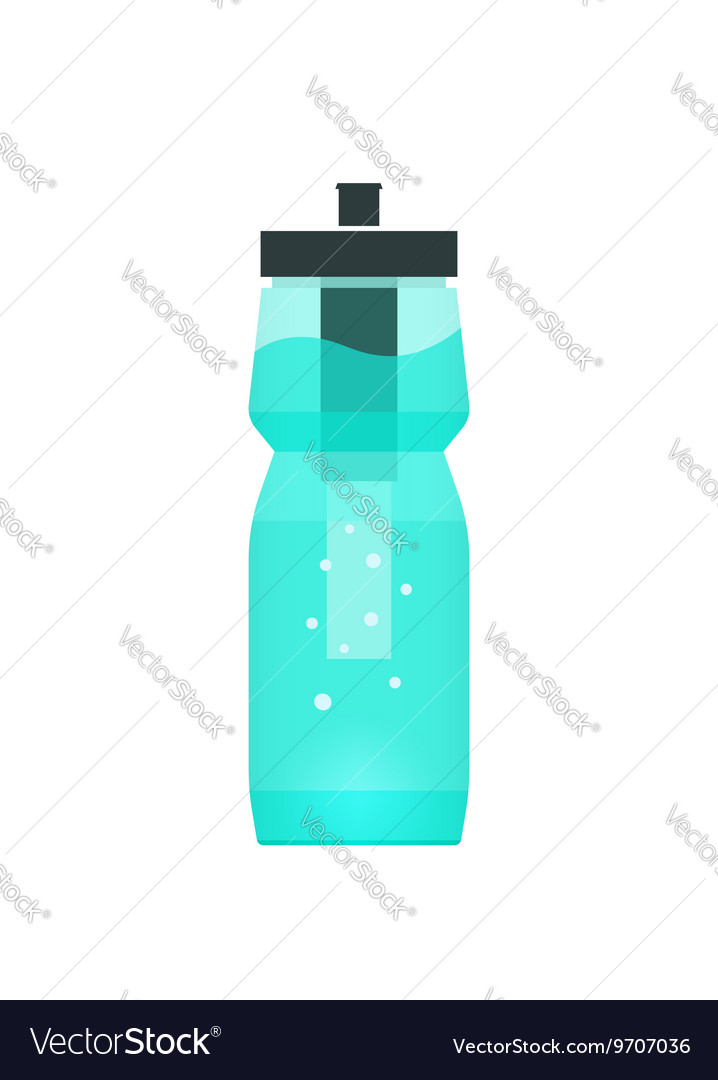 Water filtration bottle for sport and