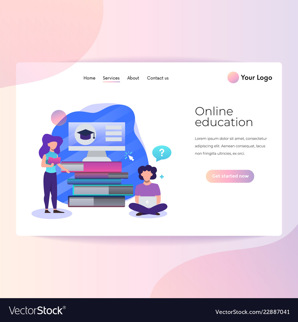 Modern flat design isometric concept online