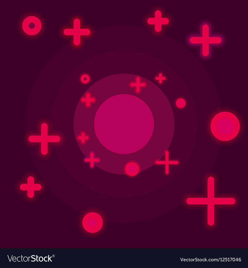 Flat Space abstract background claret color