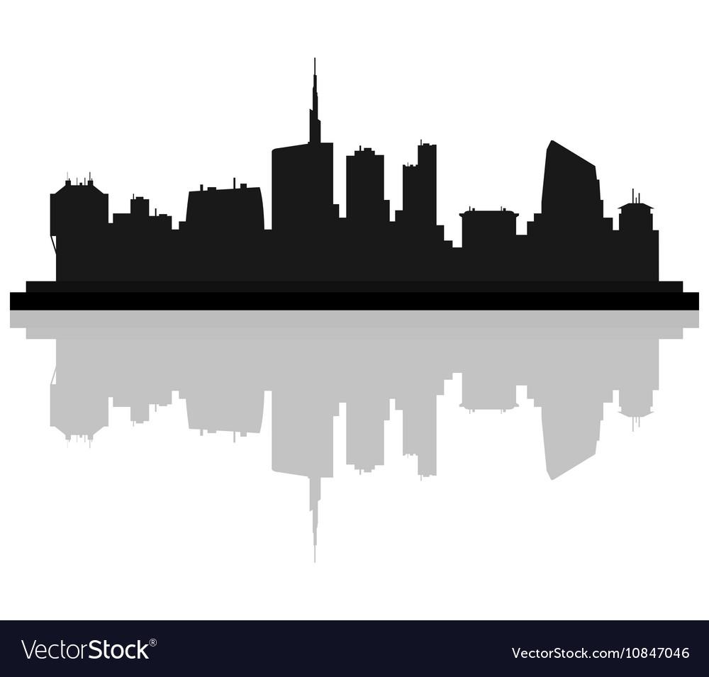 milan skyline royalty free vector image vectorstock rh vectorstock com skyline vector new york skyline victoria parrot cage