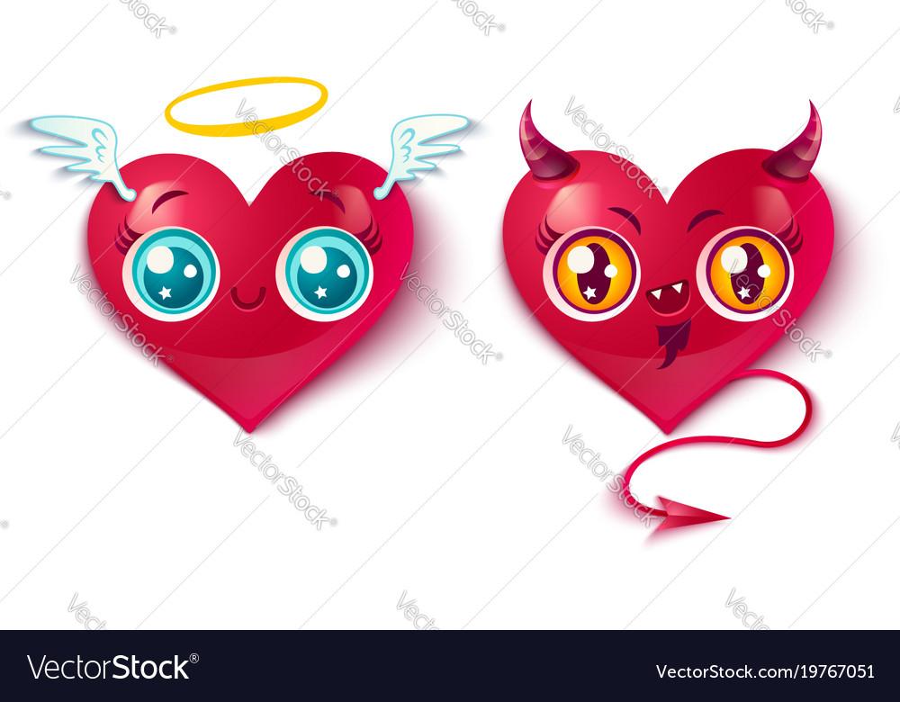 Bad and good hearts