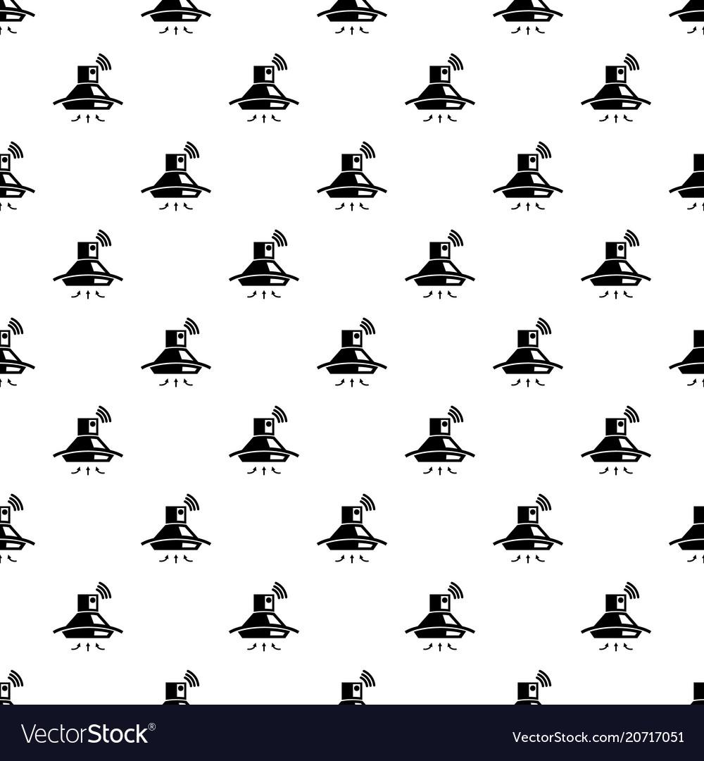 Kitchen hood pattern seamless Royalty Free Vector Image