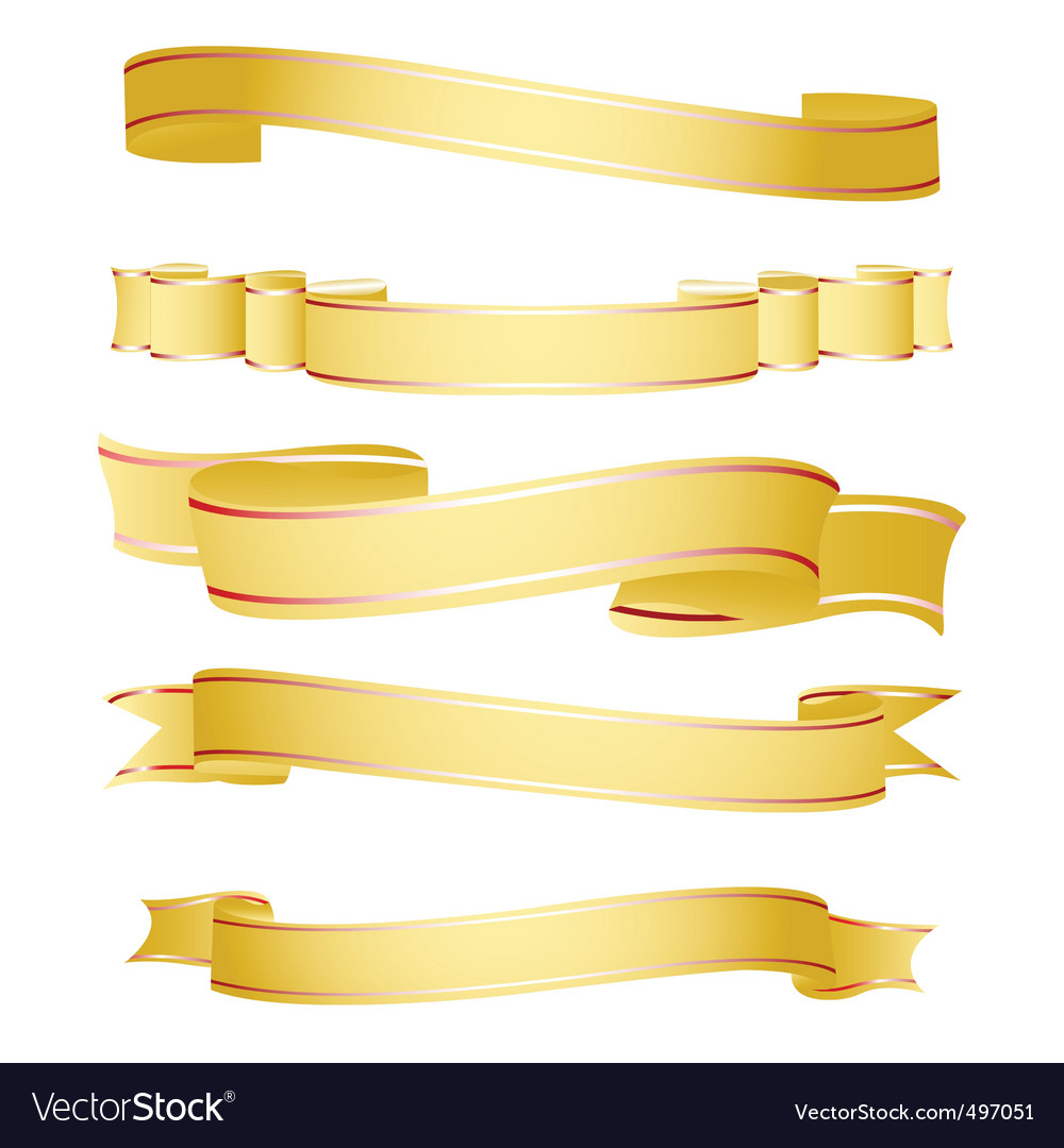 Shapes of ribbon