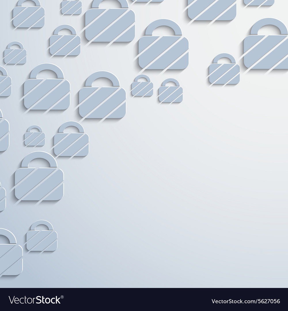 Padlock web icon background