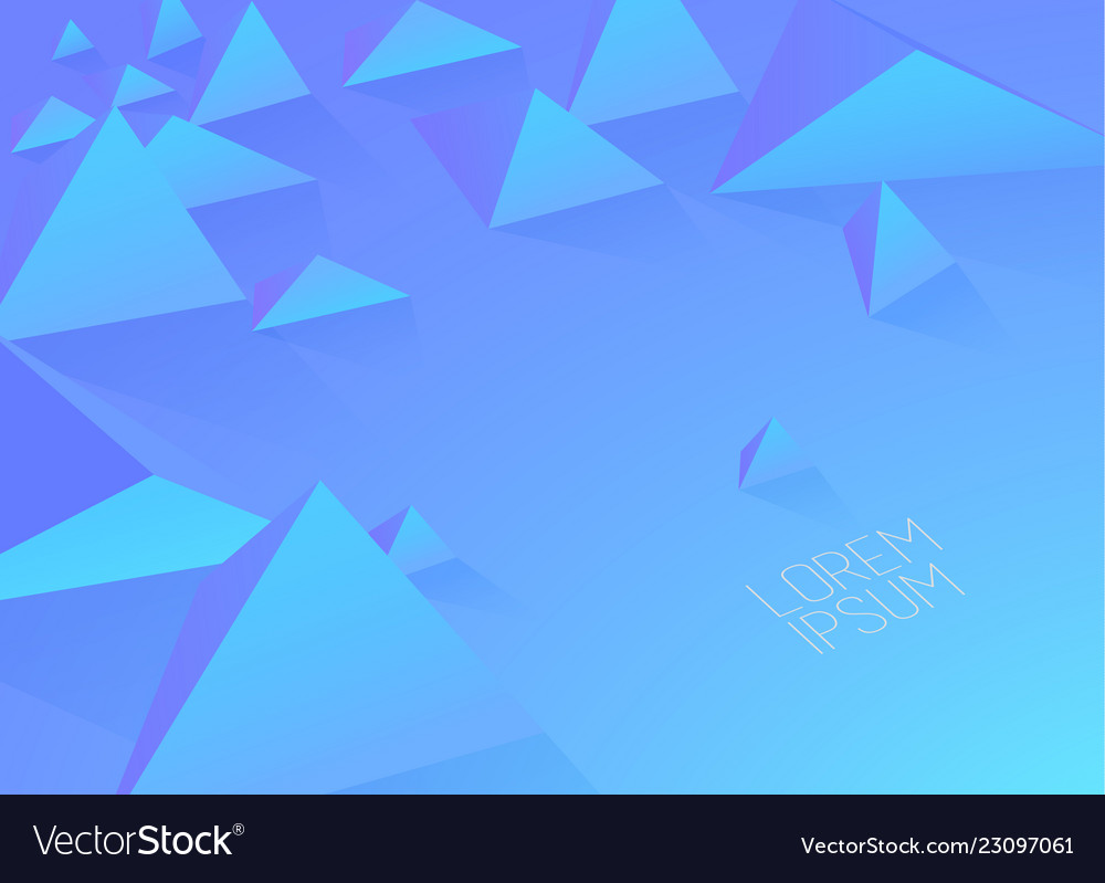 Abstract colorful background with polygonal