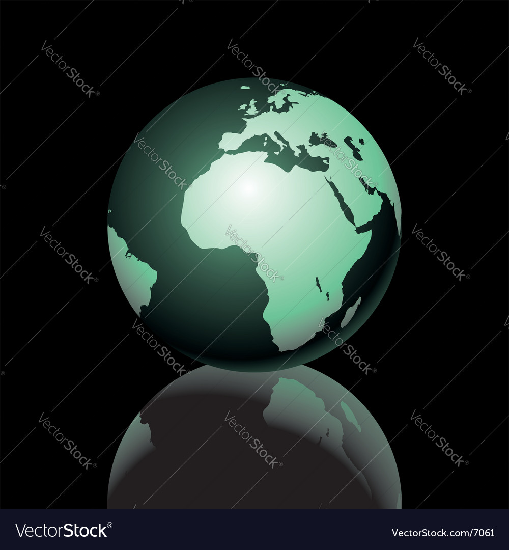 Earth graphic vector