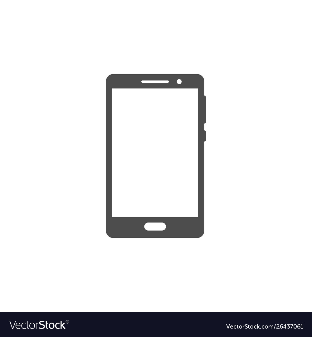 Smartphone or mobile phone icon