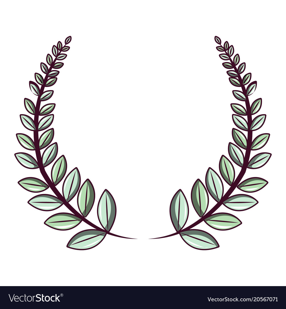 Crown Wreath Icon Cartoon Style Royalty Free Vector Image Most relevant best selling latest uploads. vectorstock