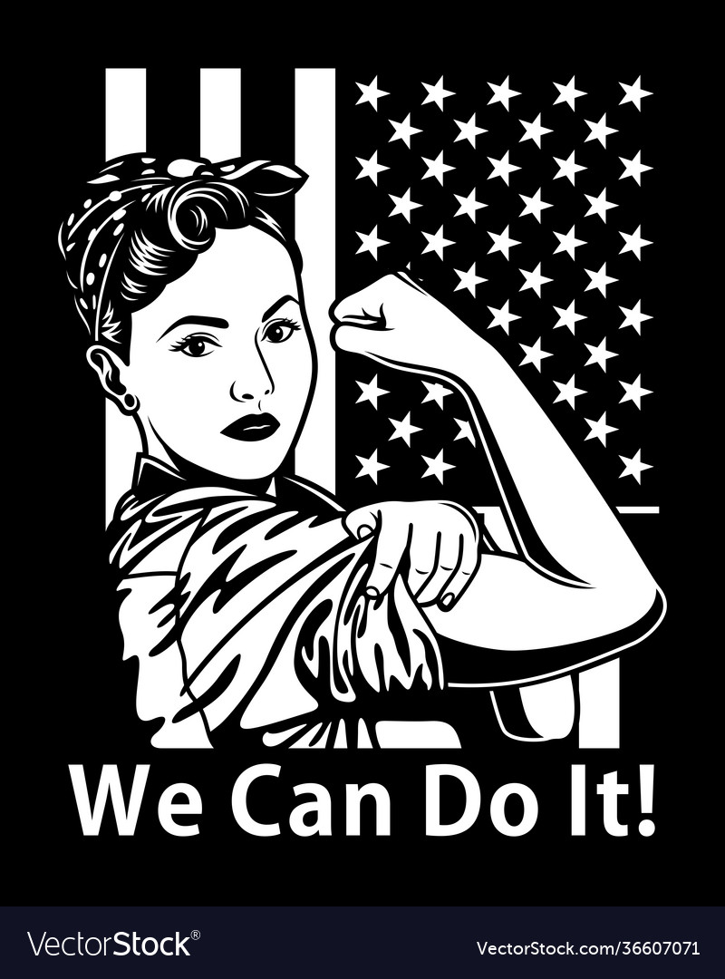 Vintage we can do it poster