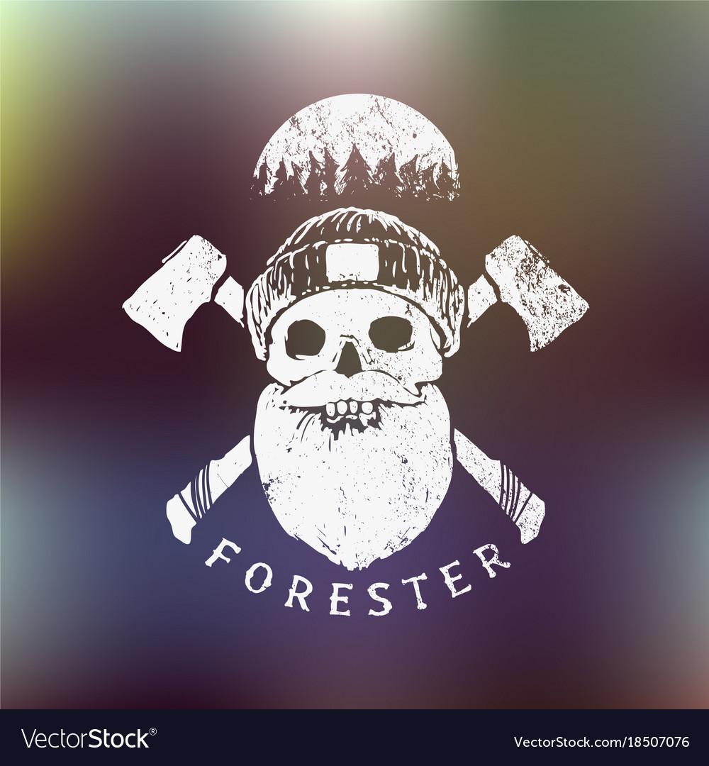 Forester lumberjack print
