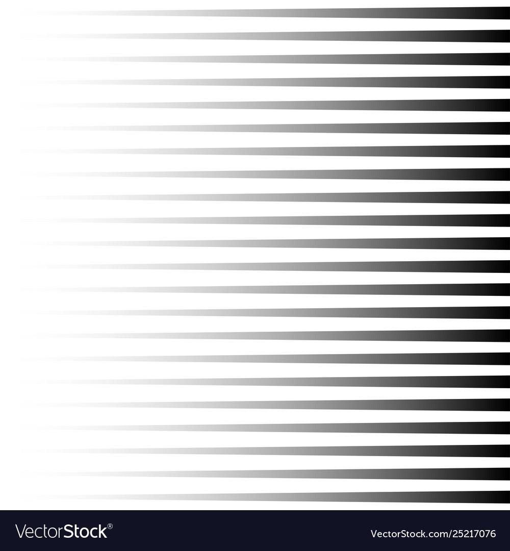 Halftone black horizontal lines repeat straight