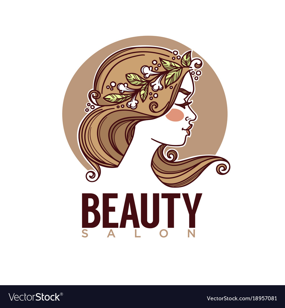 Nature of beauty sketch image of girl face for