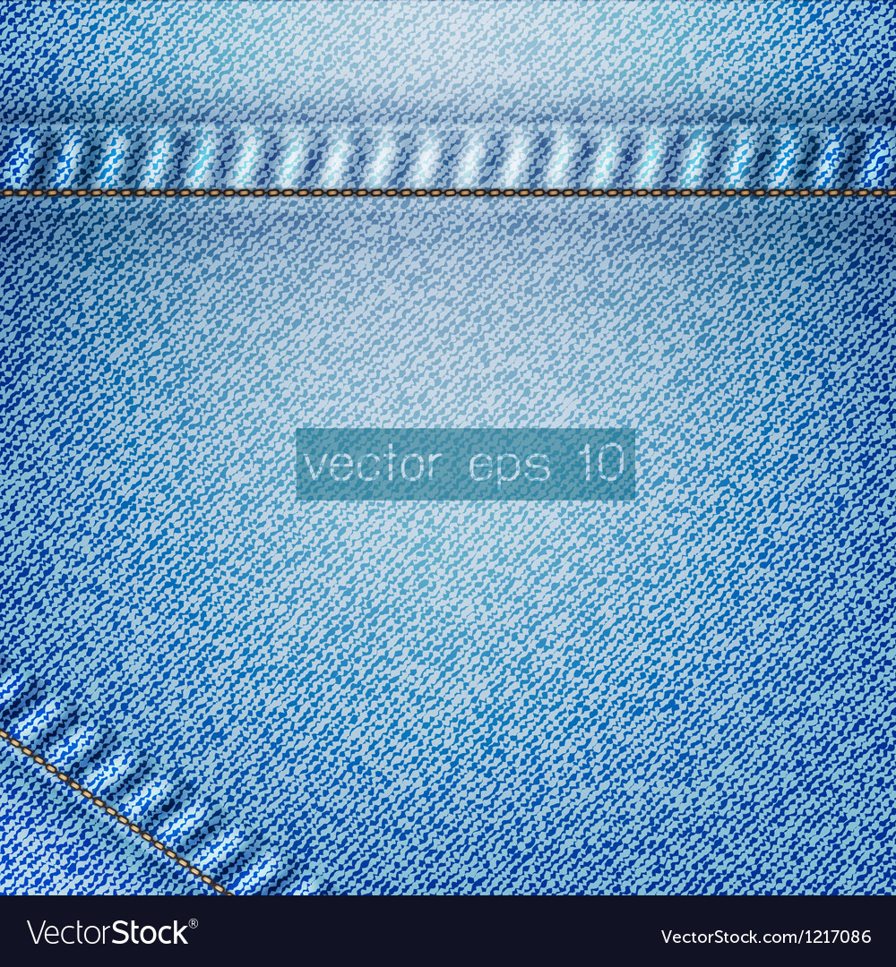 Jean background vector image