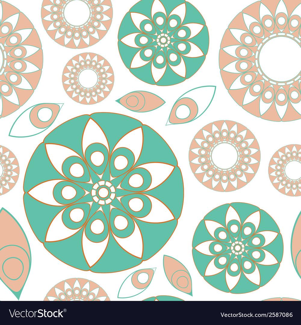 Seamless folk pattern
