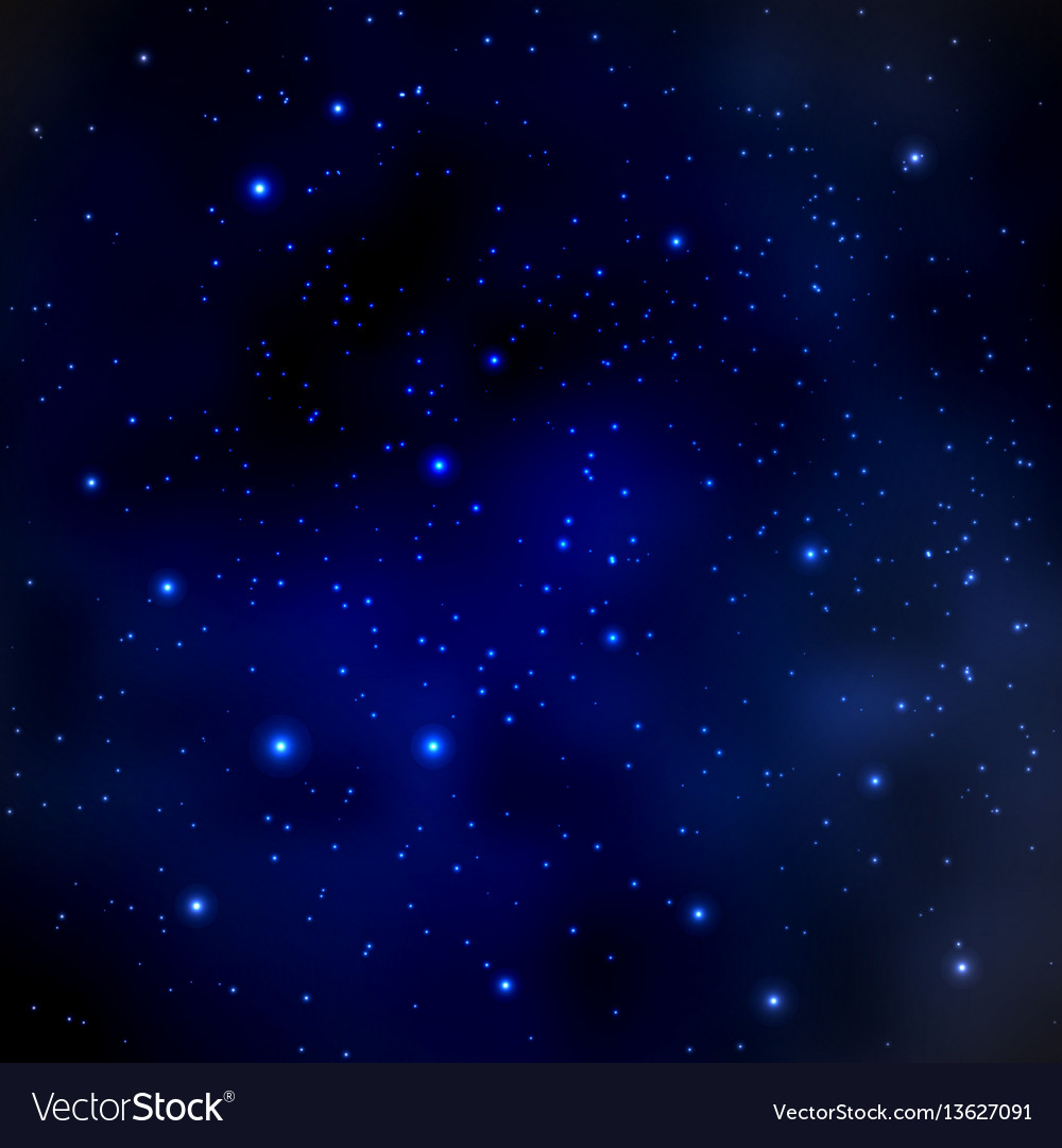 Abstract cosmos background with stars
