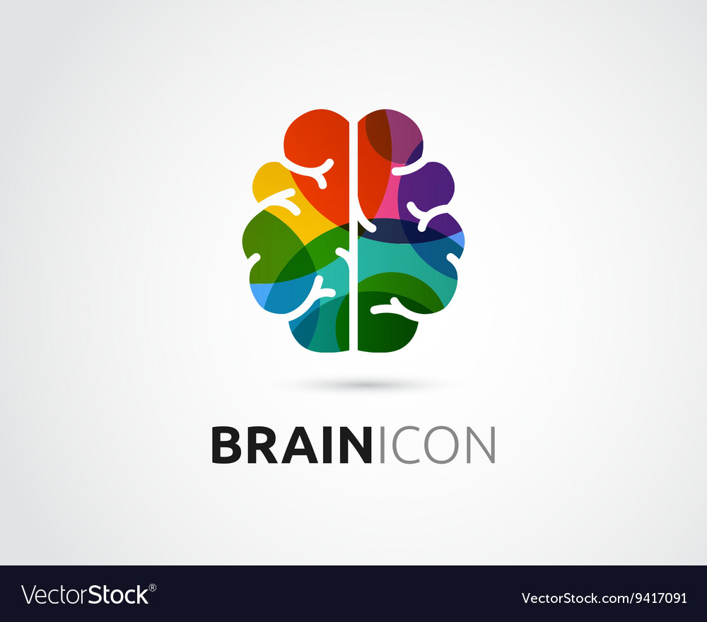 Brain Creative mind head learning icon
