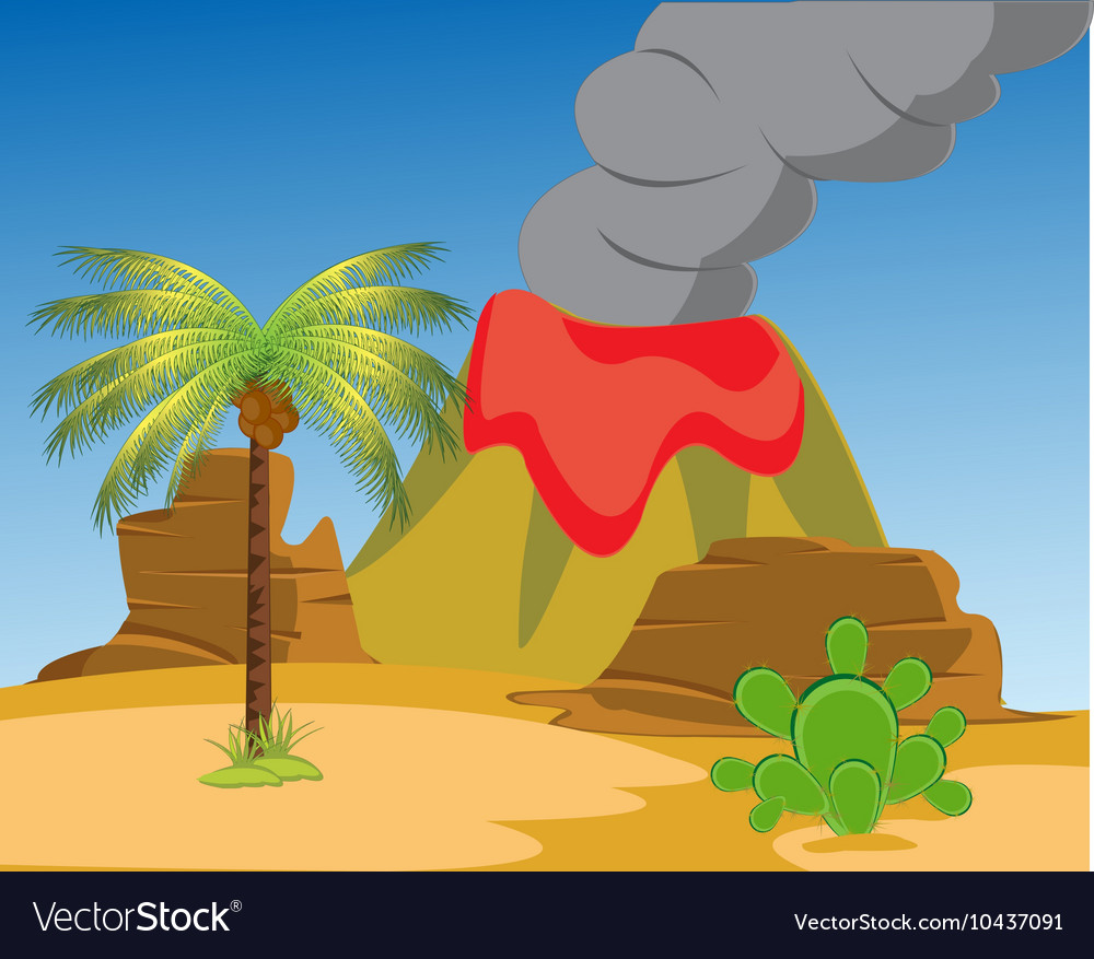Desert and vulcan
