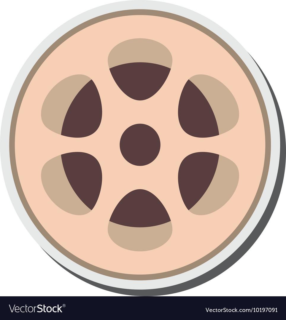 Film reel icon