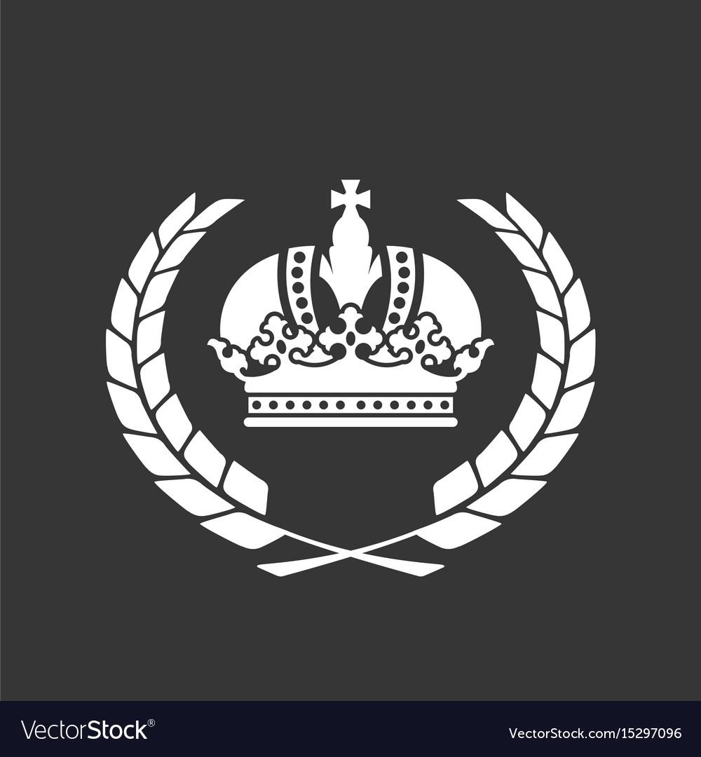 Family blazon or coat of arms - heraldic crown