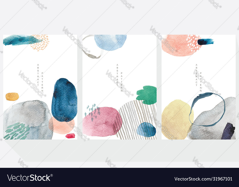 Abstract art background with watercolor texture