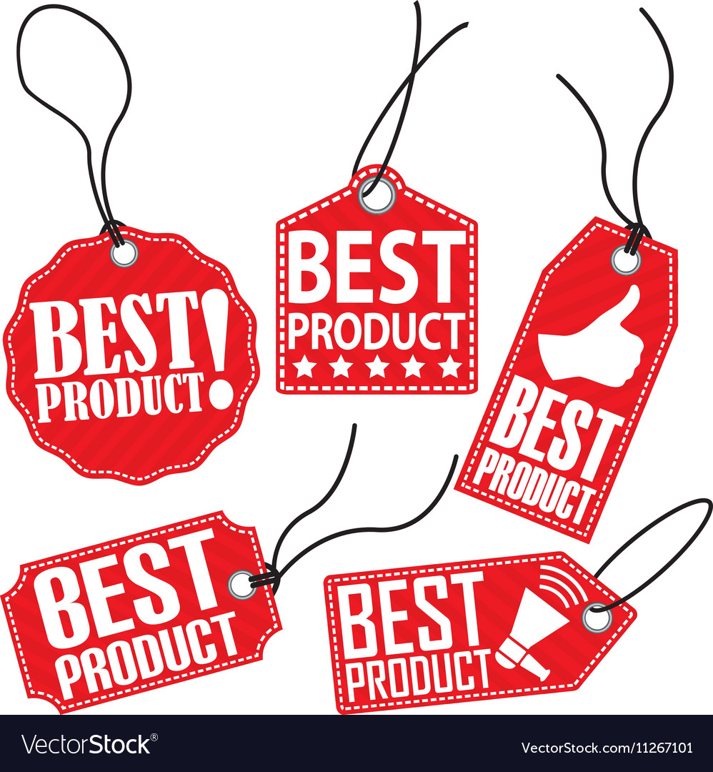 Best product red tag set