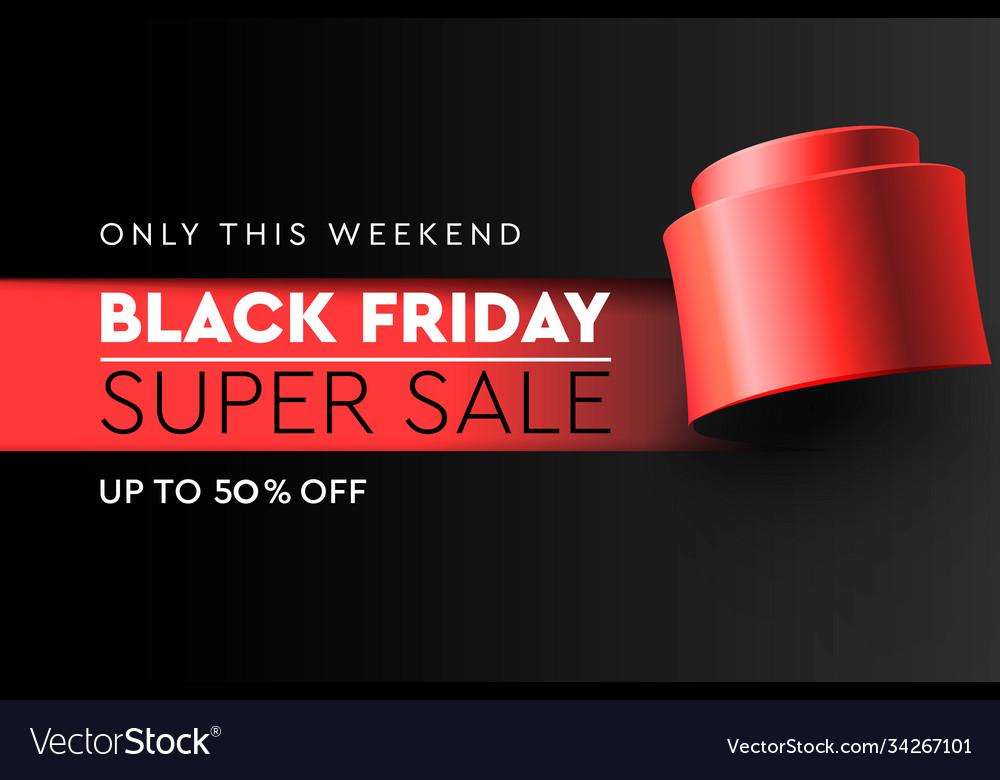 Black friday super sale banner poster burnt
