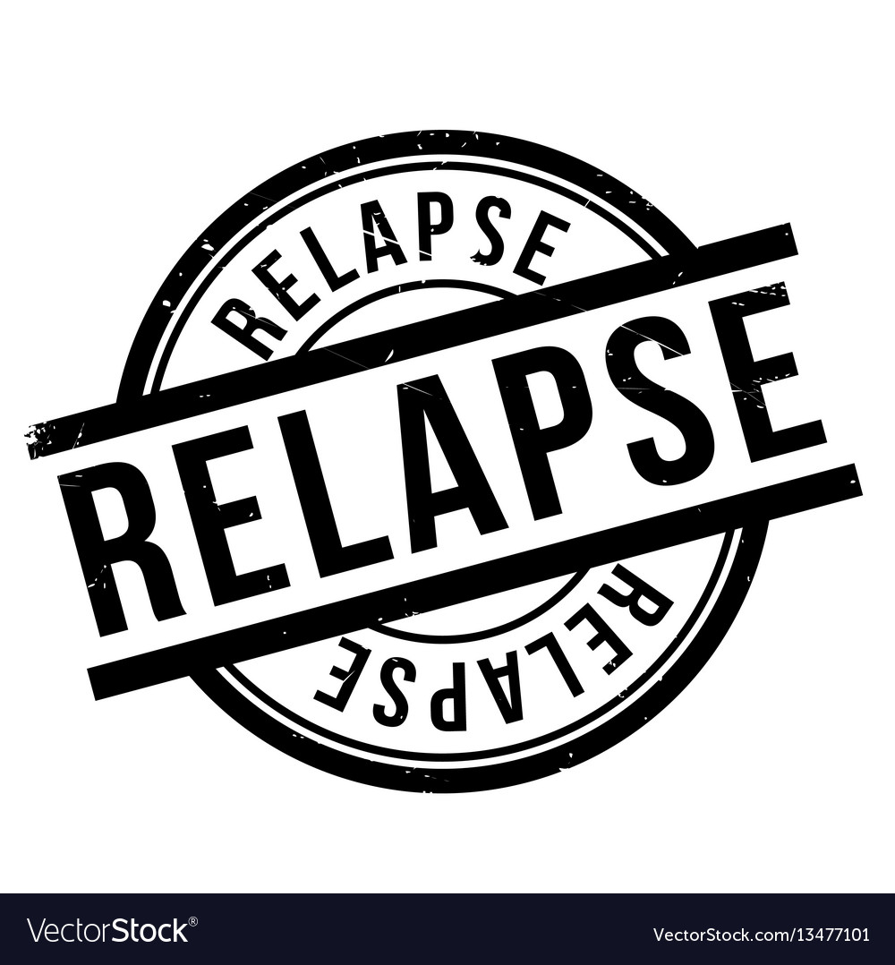 Relapse rubber stamp