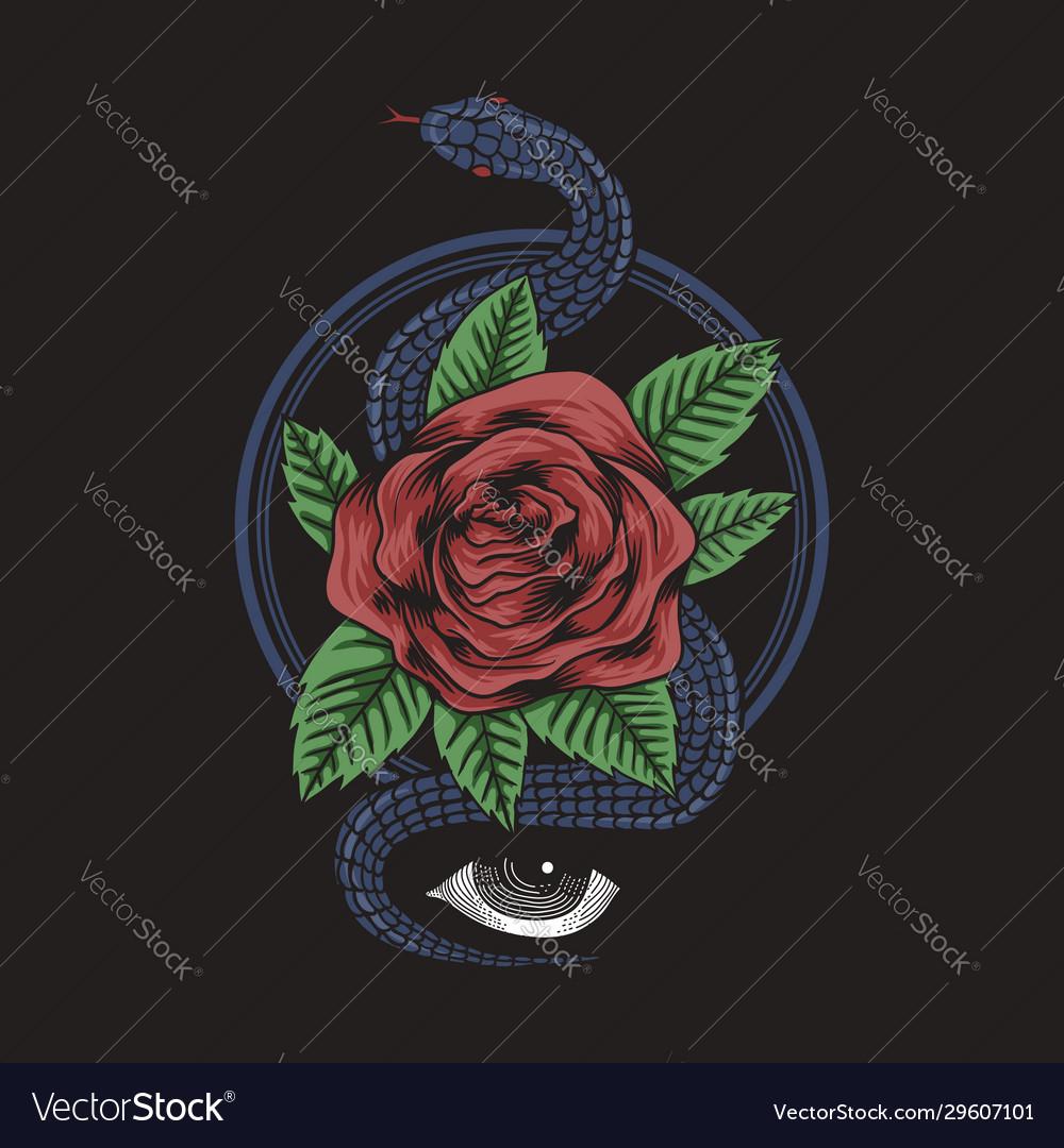 Rose snake