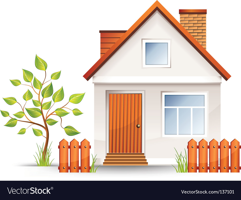 small house royalty free vector image vectorstock rh vectorstock com house vector png house vector free download