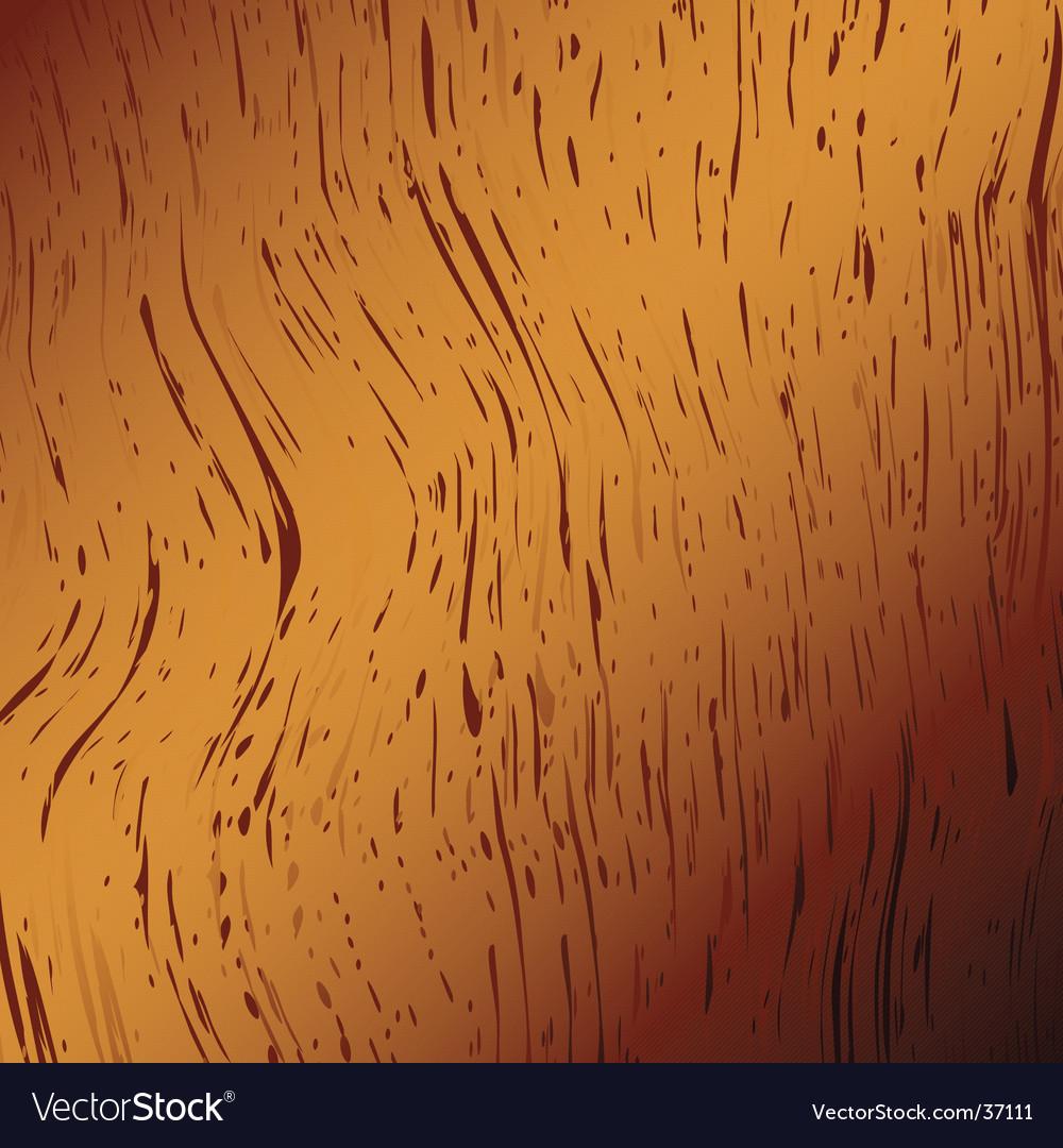 Wood golden vector image