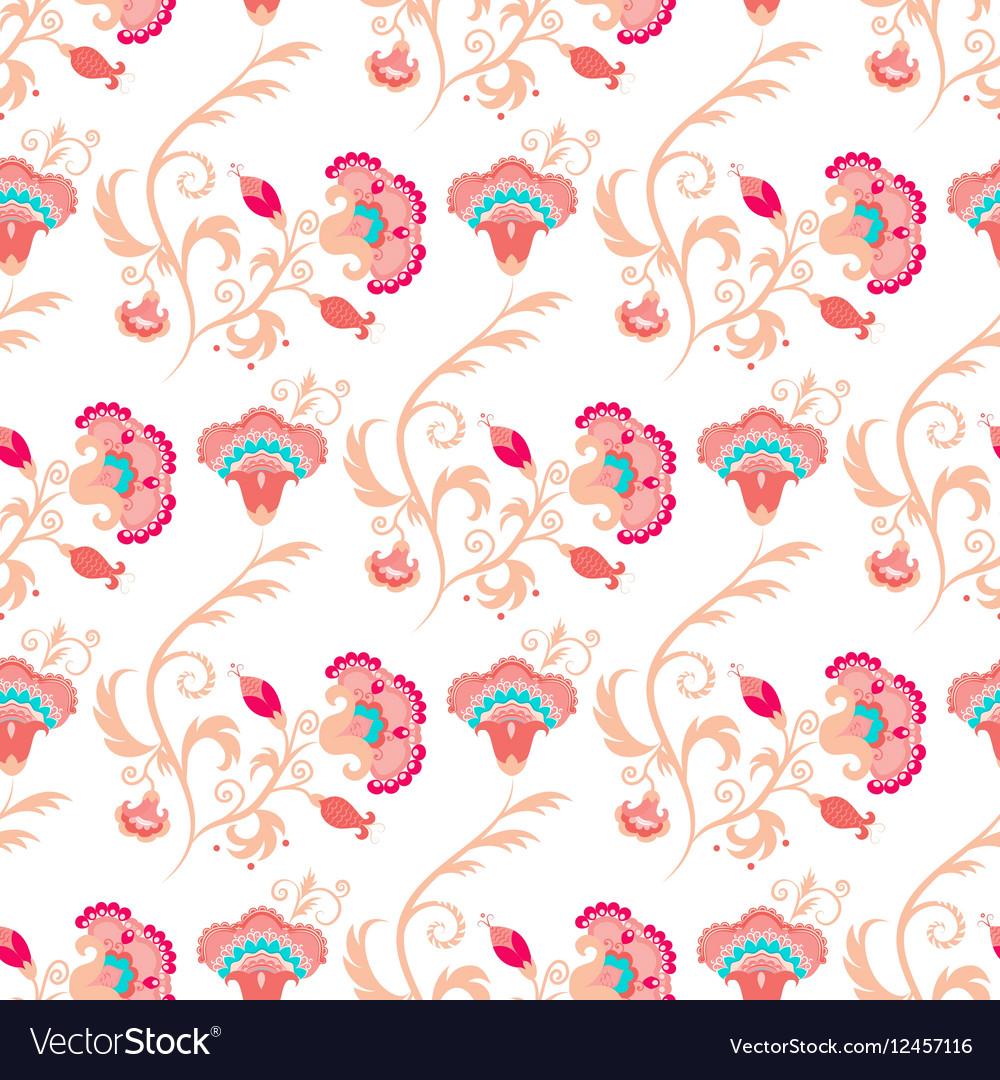 Seamless oriental style pattern